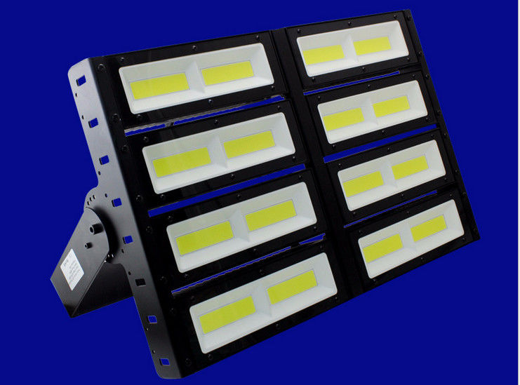 400w Waterproof High Output Led Floodlight Lens Daylight White 6000K COB Chips