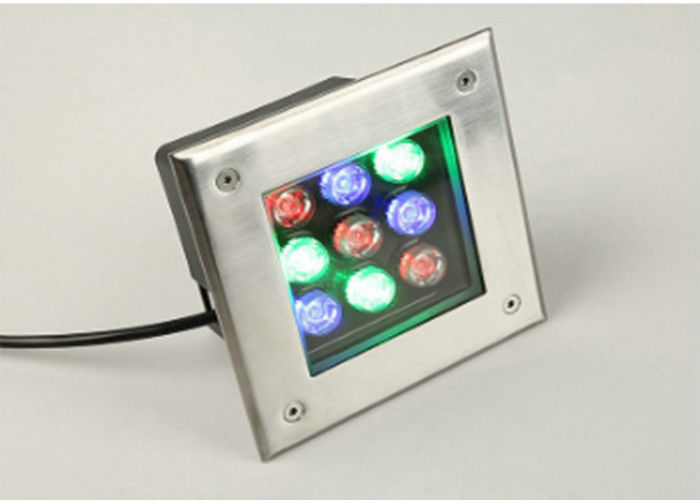 Square In Ground Lighting Led Rectangle Stainless Steel Underground Garden Lights